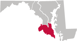 Southern Region Map