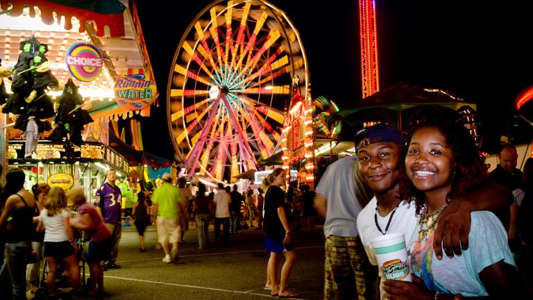 Anight out at the Maryland State Fair