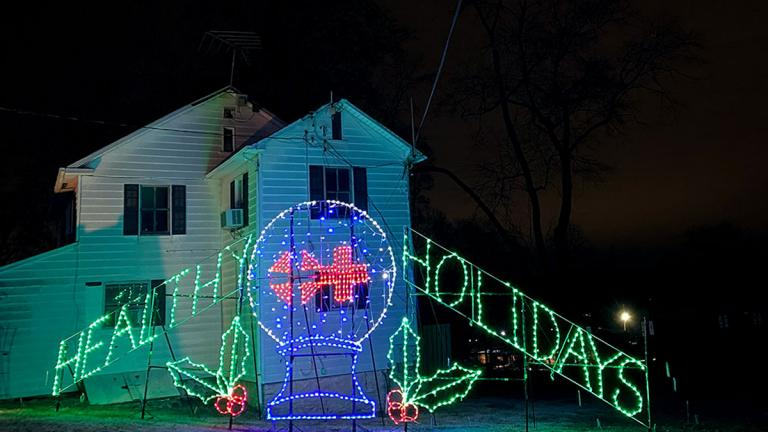 Have a Healthy Holiday from Merriweather Symphony of Lights