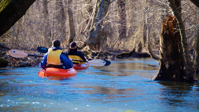 Paddle the Tuckahoe Creek