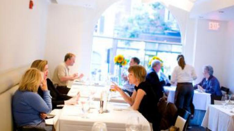Dining at Frederick's award-winning Volt Restaurant