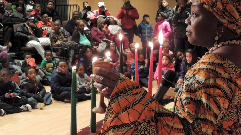 Candle Light Ceremony with Sankofa Dance Theater