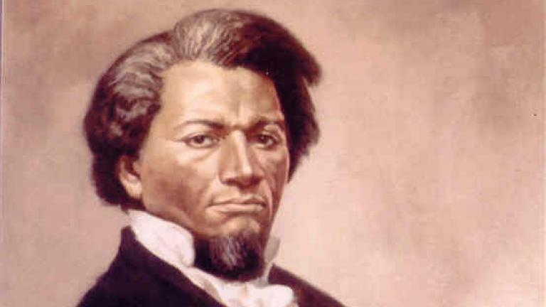 Frederick Douglass Painting