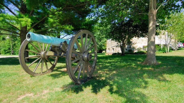 canon at  Monocacy Battlefield