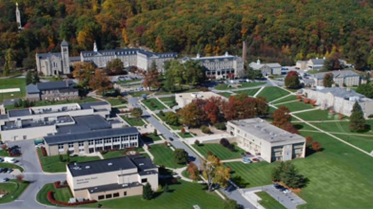 Mount St. Mary's Campus aerial