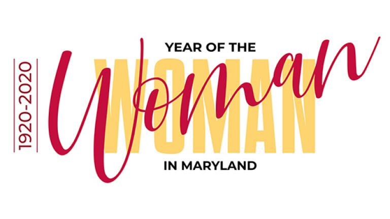 Year of the Woman in Maryland Logo