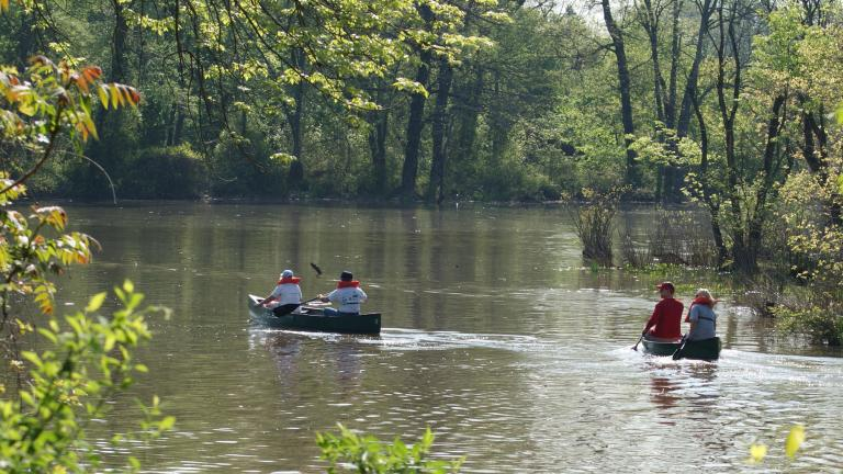 Float along the Anacostia River, one of the most historic waterways in America.