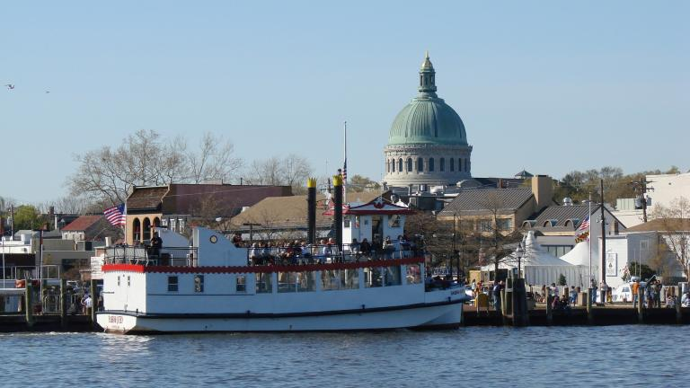 Tour Annapolis Harbour aboard the Queen Anne.