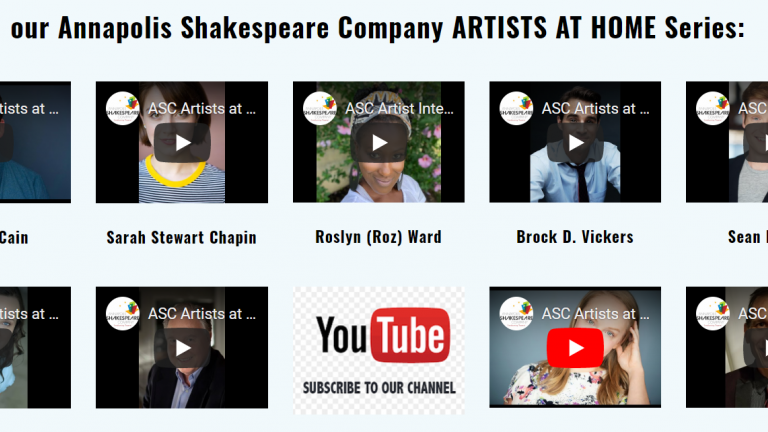 Annapolis Shakespeare Company On-Line