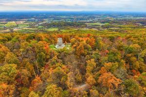 Aerial of Washington Monument State Park