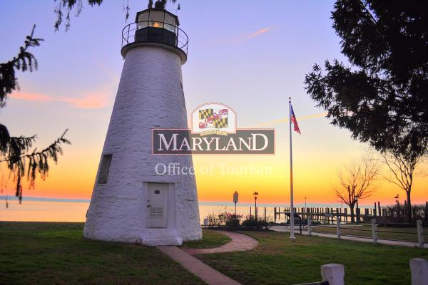 Concord Point Lighthouse in Havre de Grace
