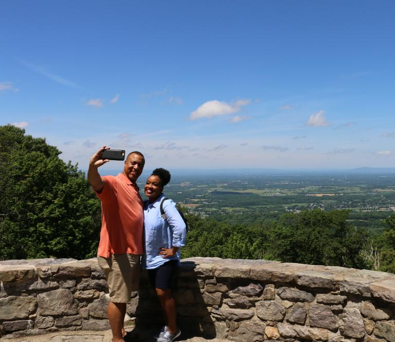 Scenic overlook in Maryland