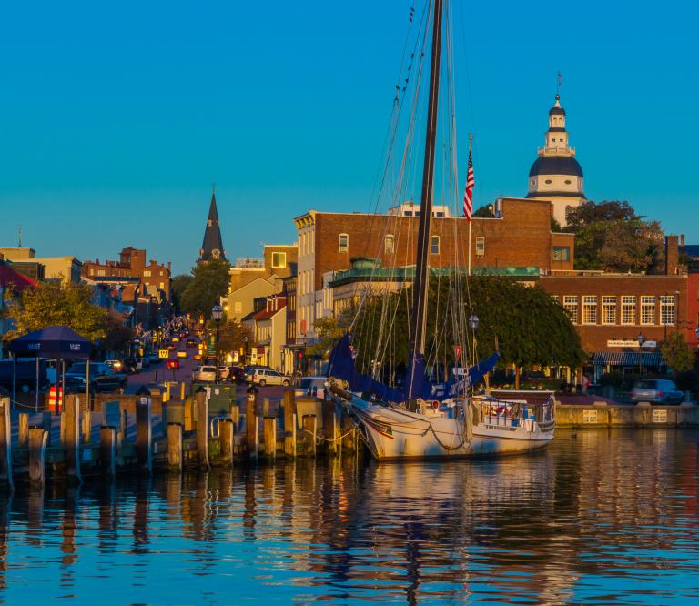 Come tour historic Annapolis, stroll the waterfront, and visit the State Capitol.