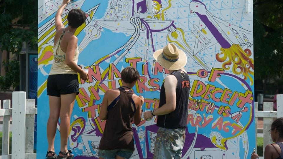 Artscape Arts Festival Painting