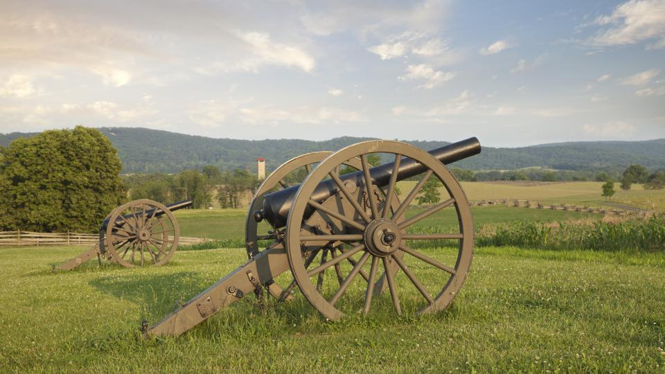 Cannons at Antietam Battlefield