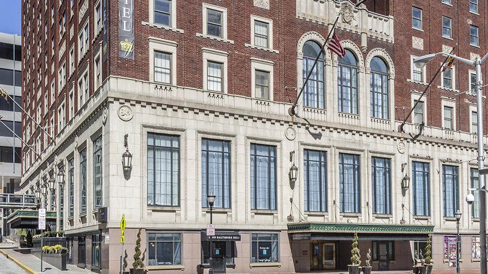 historic brick hotel