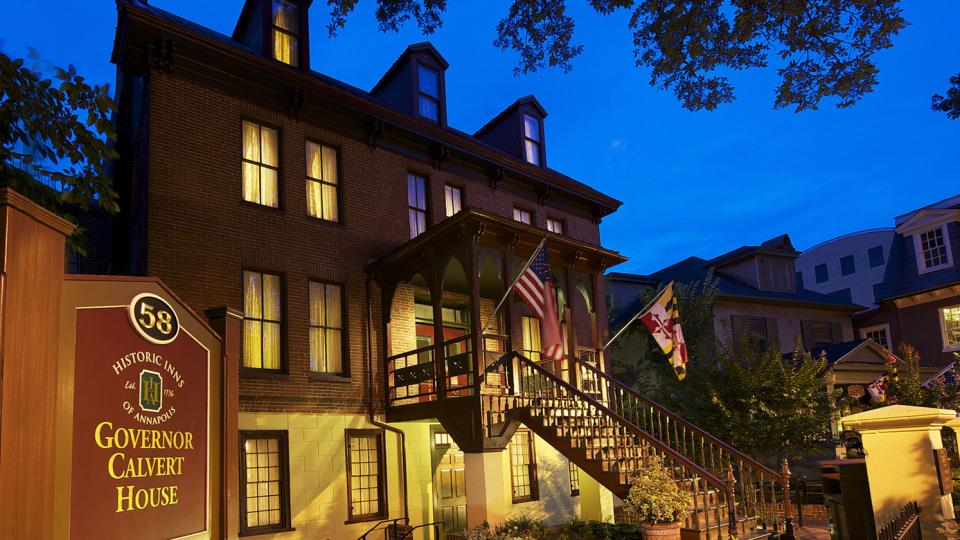 The Historic Inns of Annapolis 25 Places