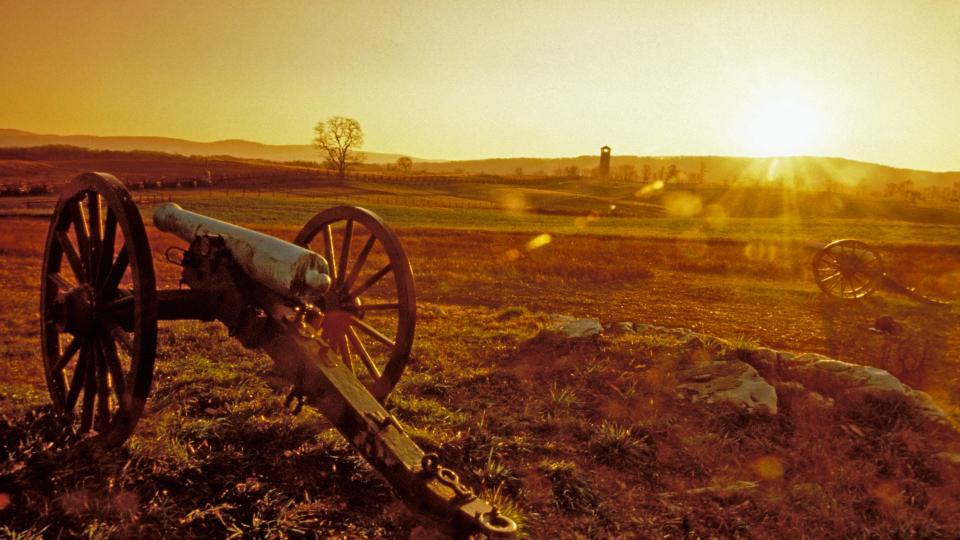 Cannon at Antietam National Battlefield Civil War
