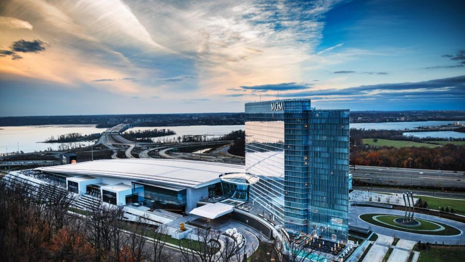 MGM National Harbor exterior