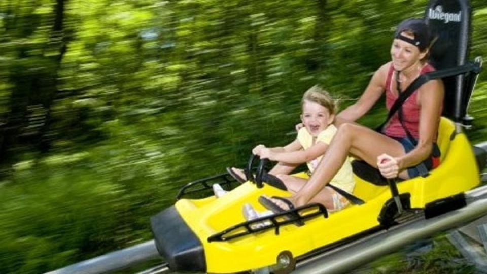 Mountain Coaster at Wisp Resort