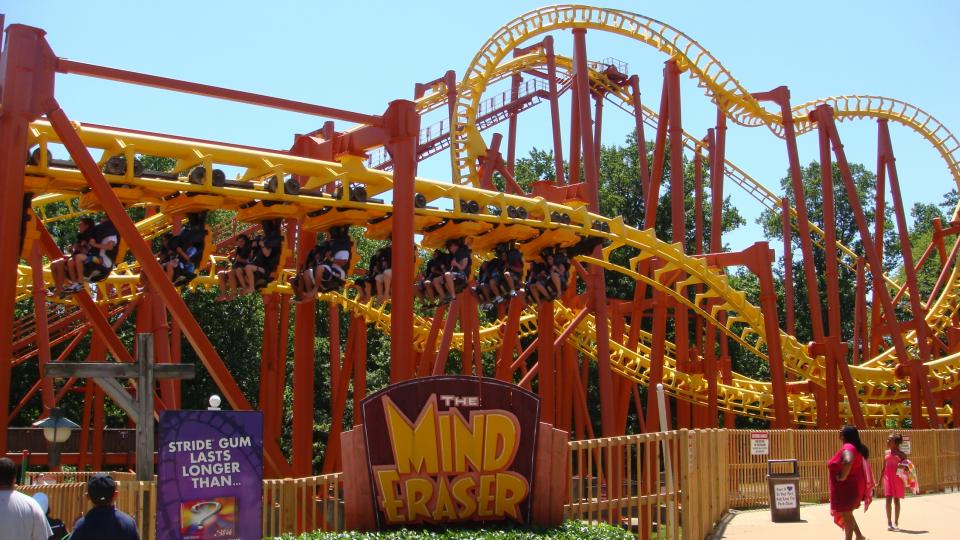 Mind Eraser at Six Flags America in Upper Marlboro