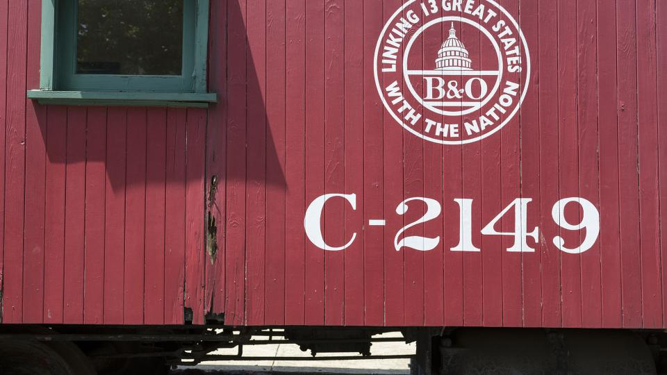 Train Car at B&O Railroad Museum