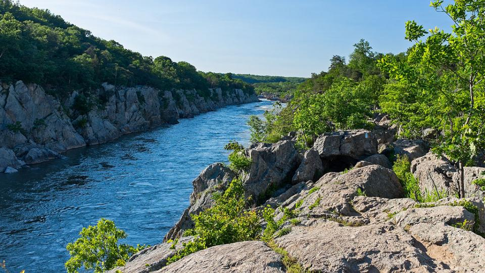 Be rewarded with beautiful views of the Great Falls of the Potomac on this trail.