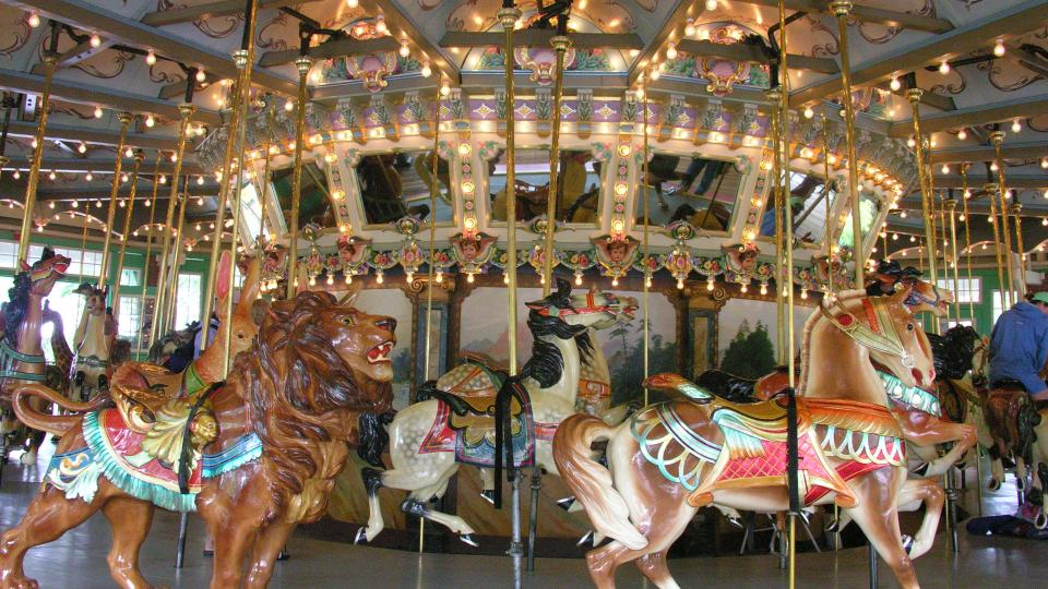 Glen Echo Park Carousel in Glen Echo, Maryland