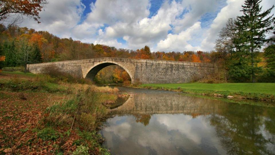 Casselman River Bridge State Park Unique Sites