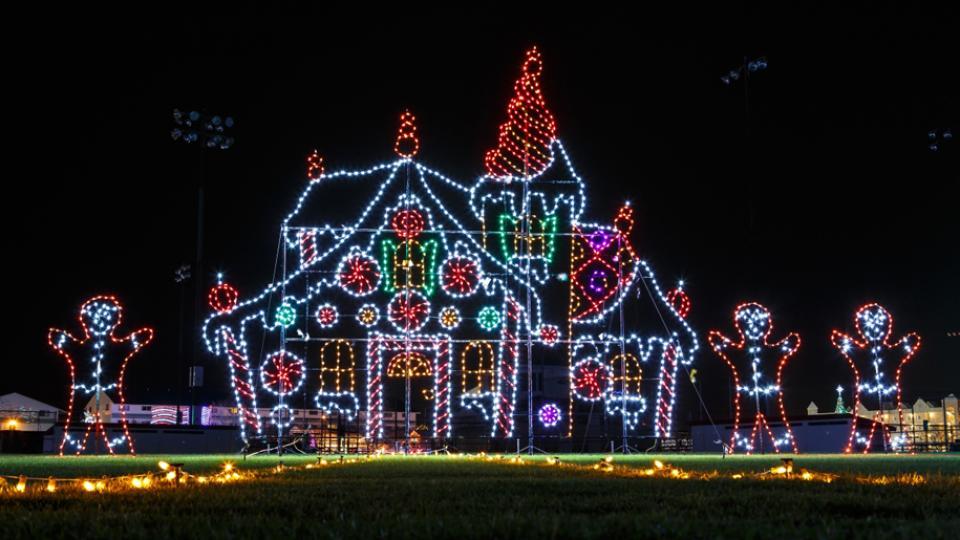 Holiday Light Display