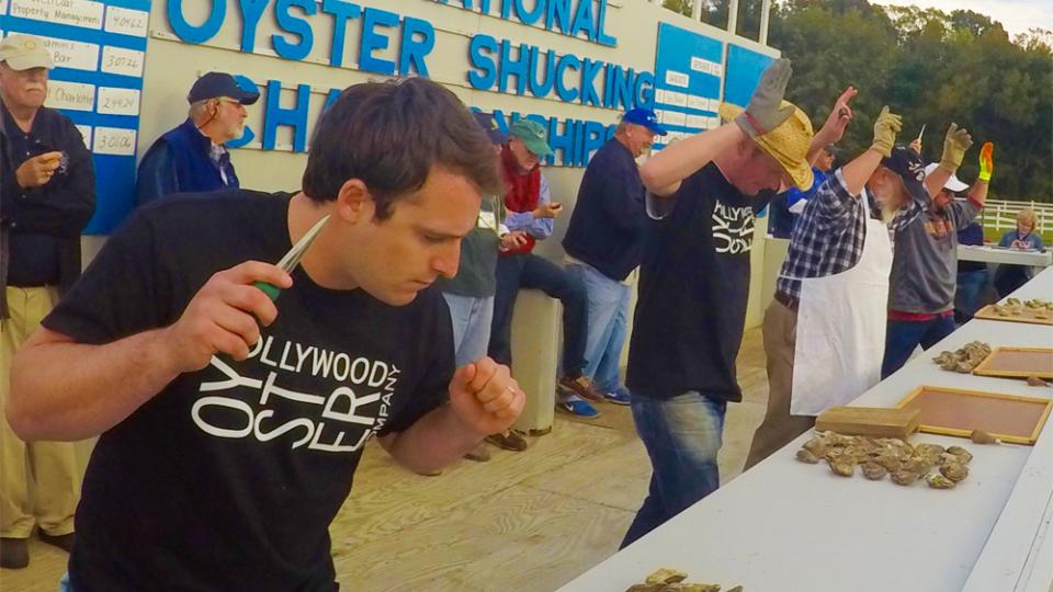 National Oyster Shucking Championships