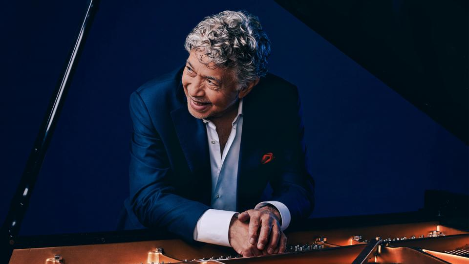 Monty Alexander at the piano
