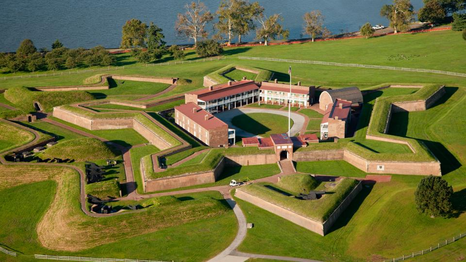 Fort McHenry National Monument and Historic Shrine is a Baltimore must-see destination. Scenes of the fort are described in Francis Scott Key's poem, The Star-Spangled Banner.
