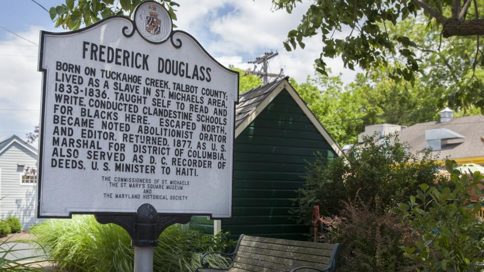 Frederick Douglass Sign