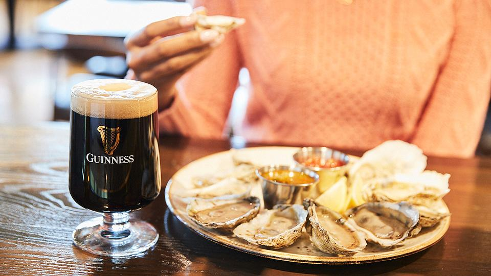 Oysters and Beer at Guinness Open Gate Brewery in Baltimore