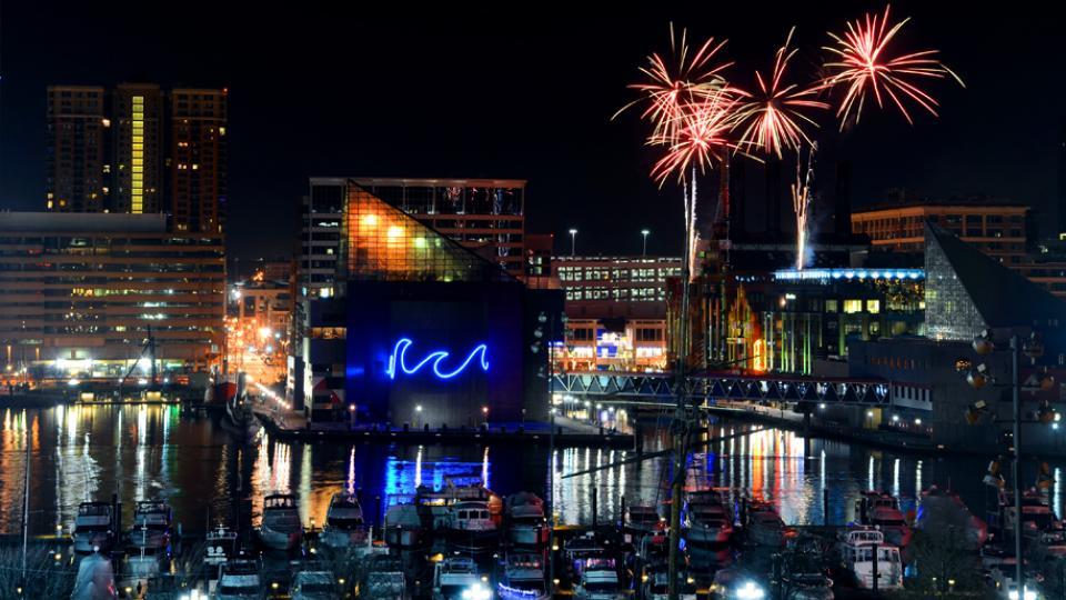 Fireworks Display, Baltimore Inner Harbor Home Design Ideas