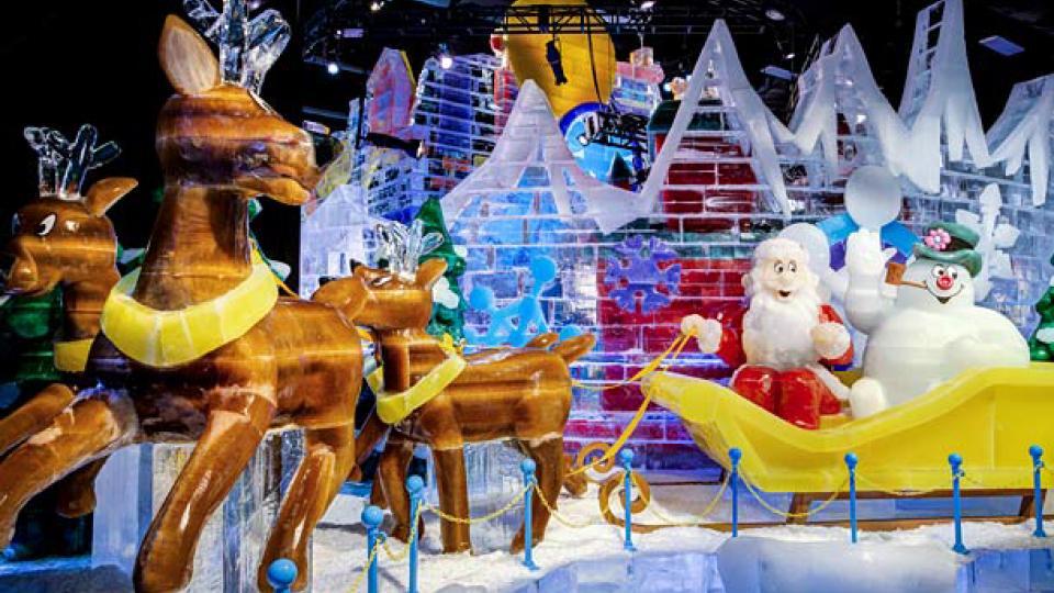 ICE Gaylord Holiday Extravaganza