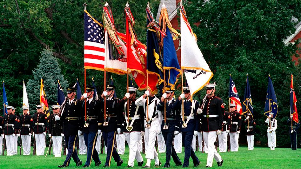 Joint Military Color Guard