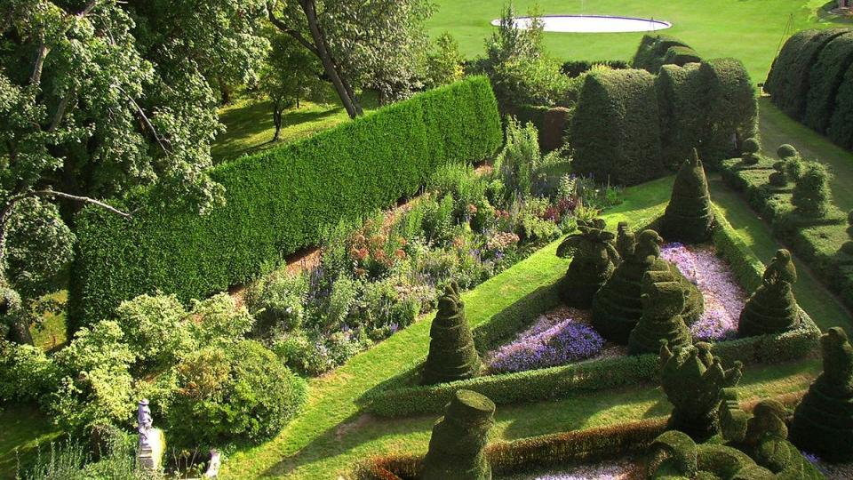 Tour the fantastically created topiaries at Ladew Topiary Gardens.