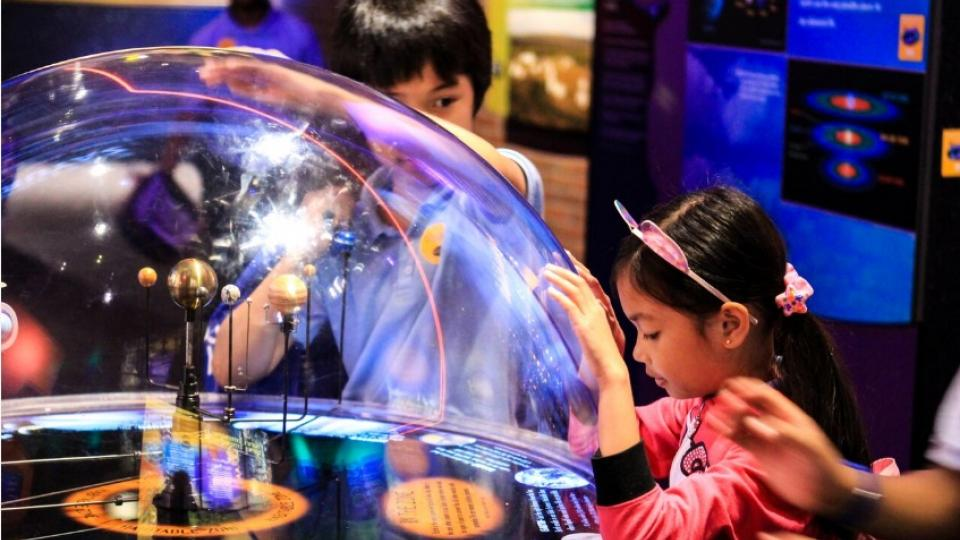 exhibit at the maryland science center
