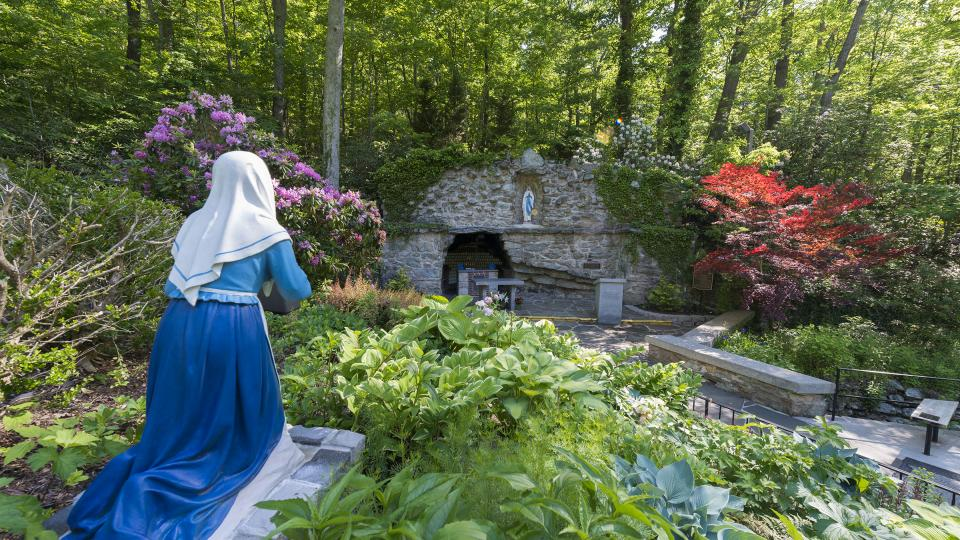 National Shrine Grotto of Our Lady of Lourdes, Emmitsburg