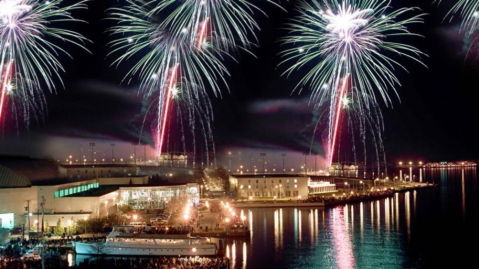Fireworks Display, Annapolis