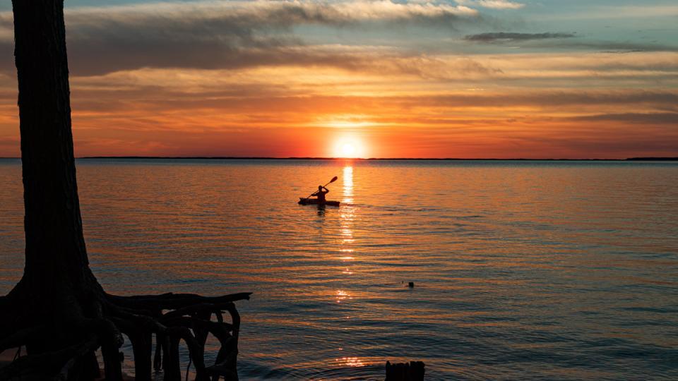 Summer Sunset Kayak