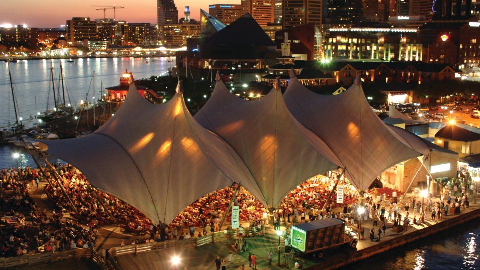 MECU Pavilion (formerly Pier Six Concert Pavilion)