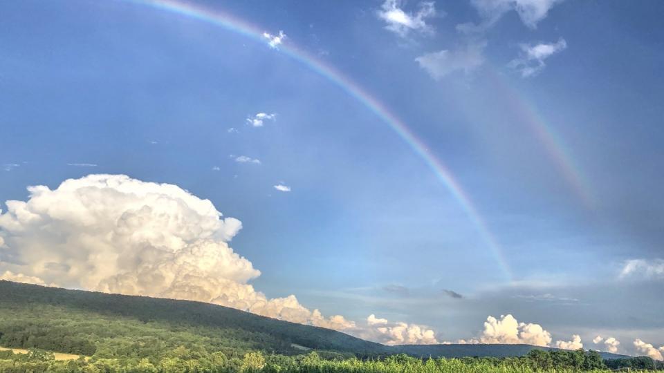 Rainbow over Washington County