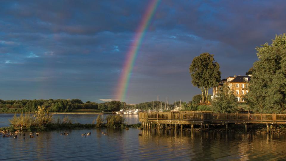 Rainbow over Havre de Grace