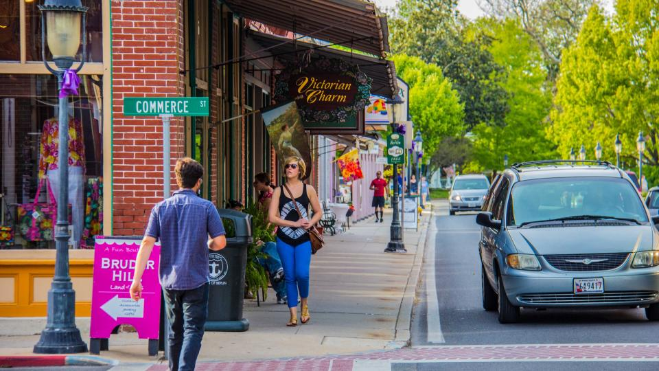 """For art and vintage finds, put on your shopping shoes and head to Berlin, """"America's Coolest Small Town."""""""