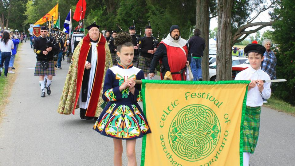 Southern Maryland Celtic Festival Parade