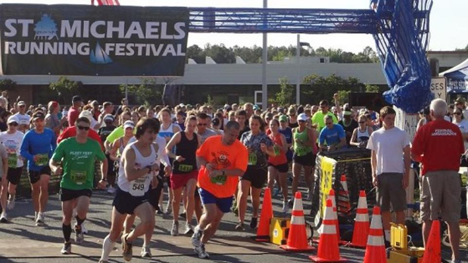 Starting Line of the St. Michaels Running Festival