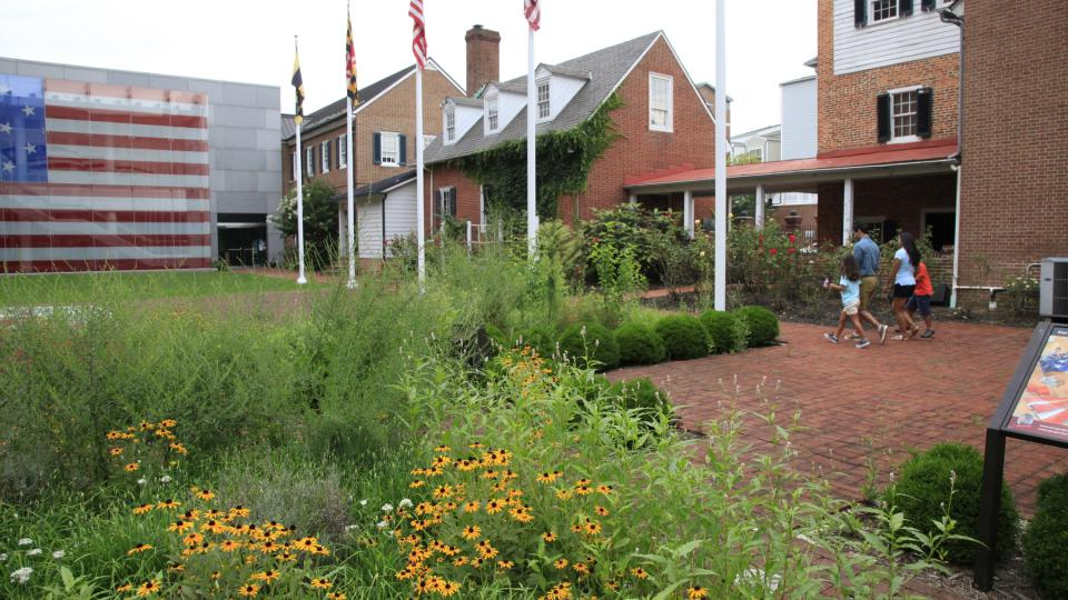 The Flag House on the Star Spangled Banner Scenic Byway, Baltimore